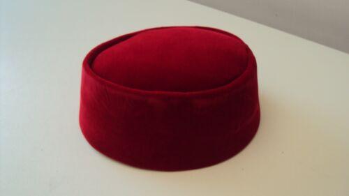 Nigeriana tradizionale MOSTRO dove vivo FILA MEN'S CAP osinbajo Stile Rosso 23 pollici