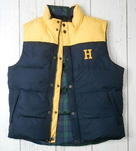 TOMMY HILFIGER Reversible Down Puffer Vest L Plai… - image 1