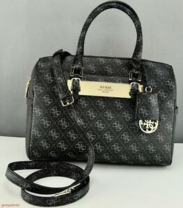 Image is loading New-Stylish-100-Original-Handbag-GUESS-Satchel-Tote- 2e81a114050d4