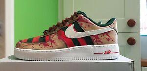 Custom Nike Air Force 1 Freddy Krueger