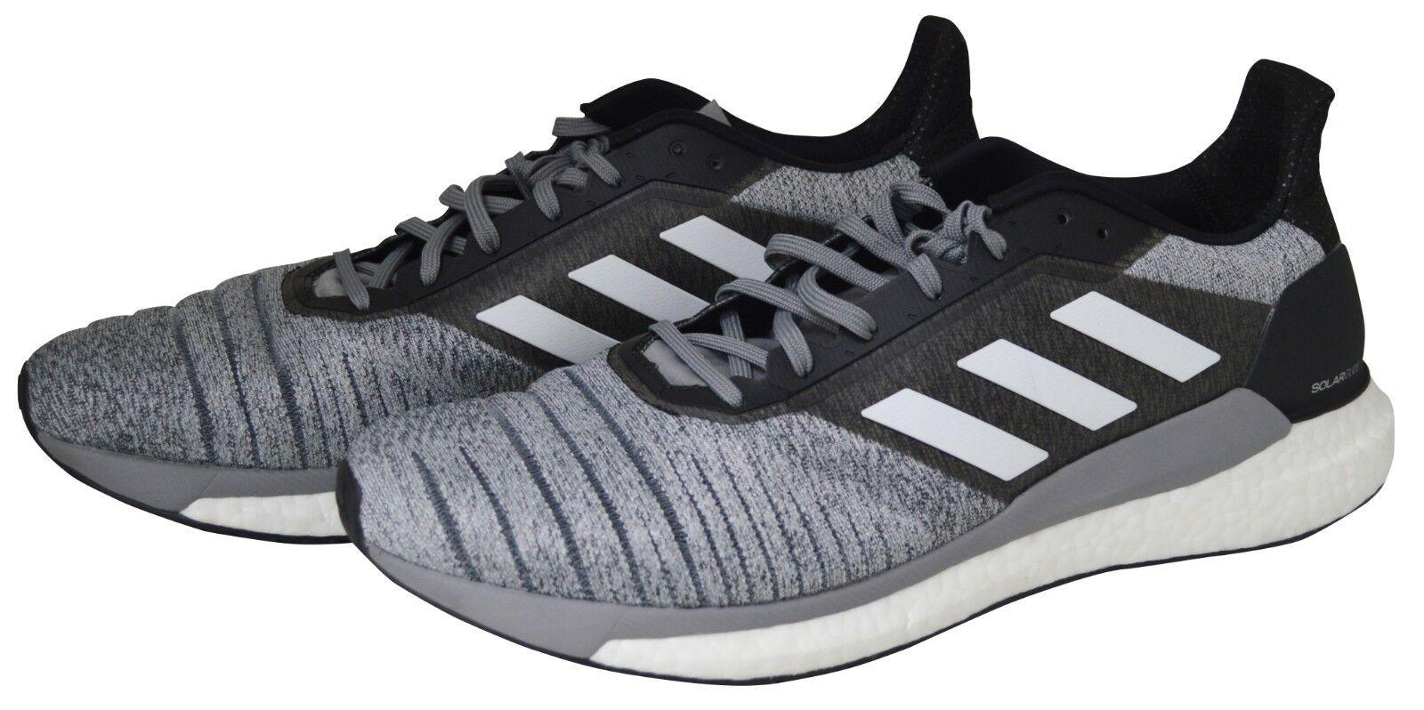 Adidas Black / Grey Solar (12.5 Glides Trainers / Sneakers (12.5 Solar UK/ 46 EU MENS SIZE) 0f9cb3