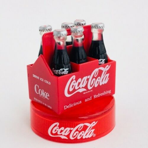 Coca Cola Graffiti Oldies Figure Collection #1 Six Bottle KAIYODO Japan 2003