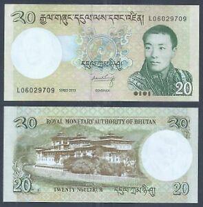 Bhutan-2013-20-Ngultrum-UNC-2013-20-L06029709