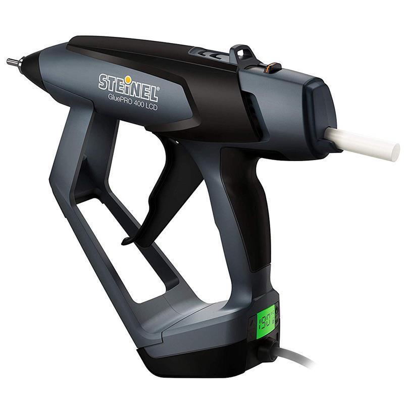 Steinel Heißklebepistole GluePRO 400 LCD mit Display 400W 40-230°C, 1,5kg/h