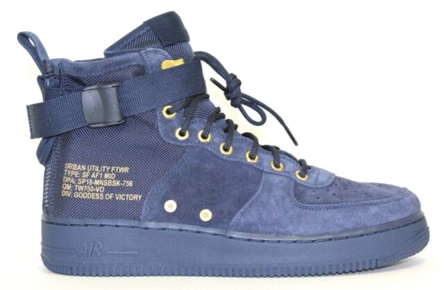 cheaper d00c9 e50c8 Nike SF AF1 Mid - Basketball Shoes - (917753-400) - Men s Size