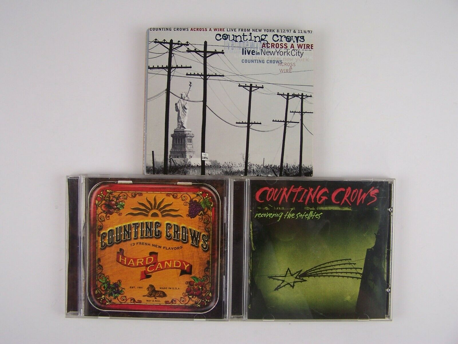The Counting Crows 3xCD Lot #1