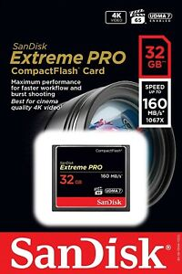 SanDisk-Extreme-PRO-32GB-tarjeta-CompactFlash-de-velocidad-hasta-160MB-s-4K-Full-HD-cf