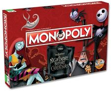 Board Games--Monopoly - Nightmare Before Christmas Edition