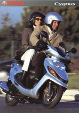 Prospekt 2002 Yamaha Cygnus Broschüre Motorroller brochure scooter Japan Asien