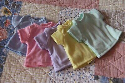 "Lot of 5~T-SHIRTS~RAINBOW~ for Paola Reina dolls~13.5/"" 34cm ~iCukla~"