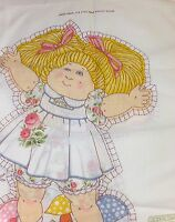Vintage Melco Textile Corp Cabbage Patch Kids Open Arms Doll Fabric Panel 811
