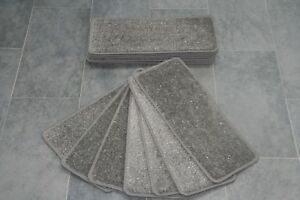 14-Grey-Glitter-Carpet-Stair-Treads-Stain-Free-Grey-Sparkle-Pads-14-Large-Pads