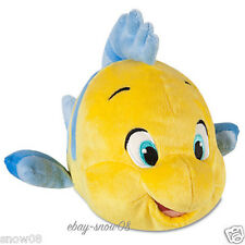 FLOUNDER PLUSH The Little Mermaid Small 10'' Genuine Original Authentic Disney