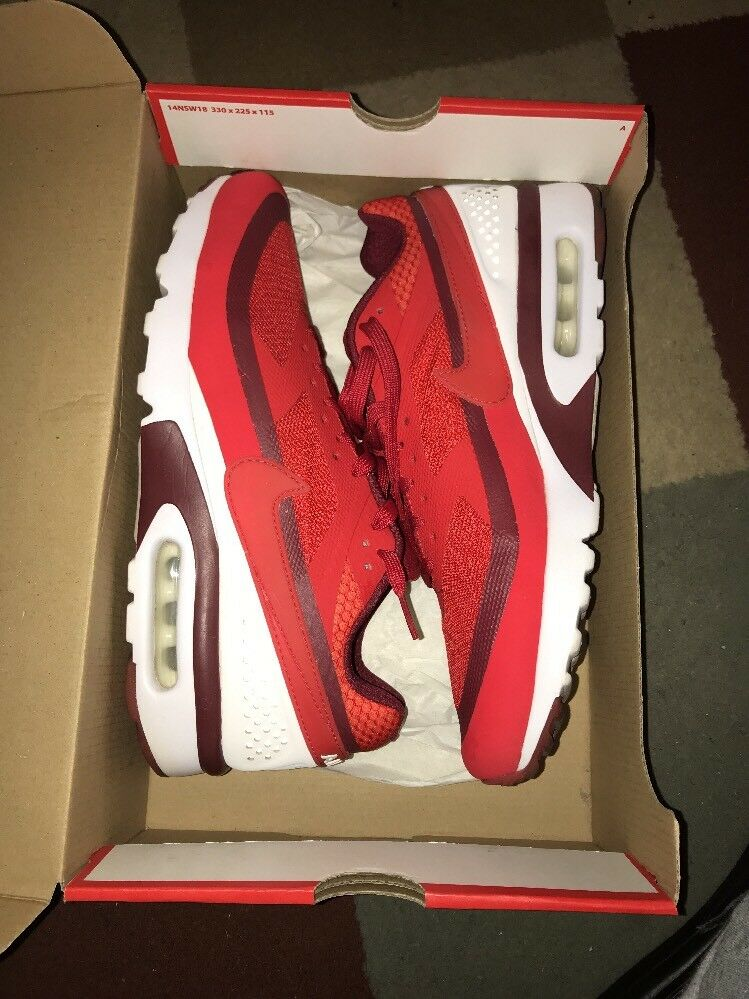 NEW MEN'S NIKE AIR MAX BW ULTRA 819475-616 UNIVERSITY RED CRIMSON WHITE Price reduction Cheap and beautiful fashion