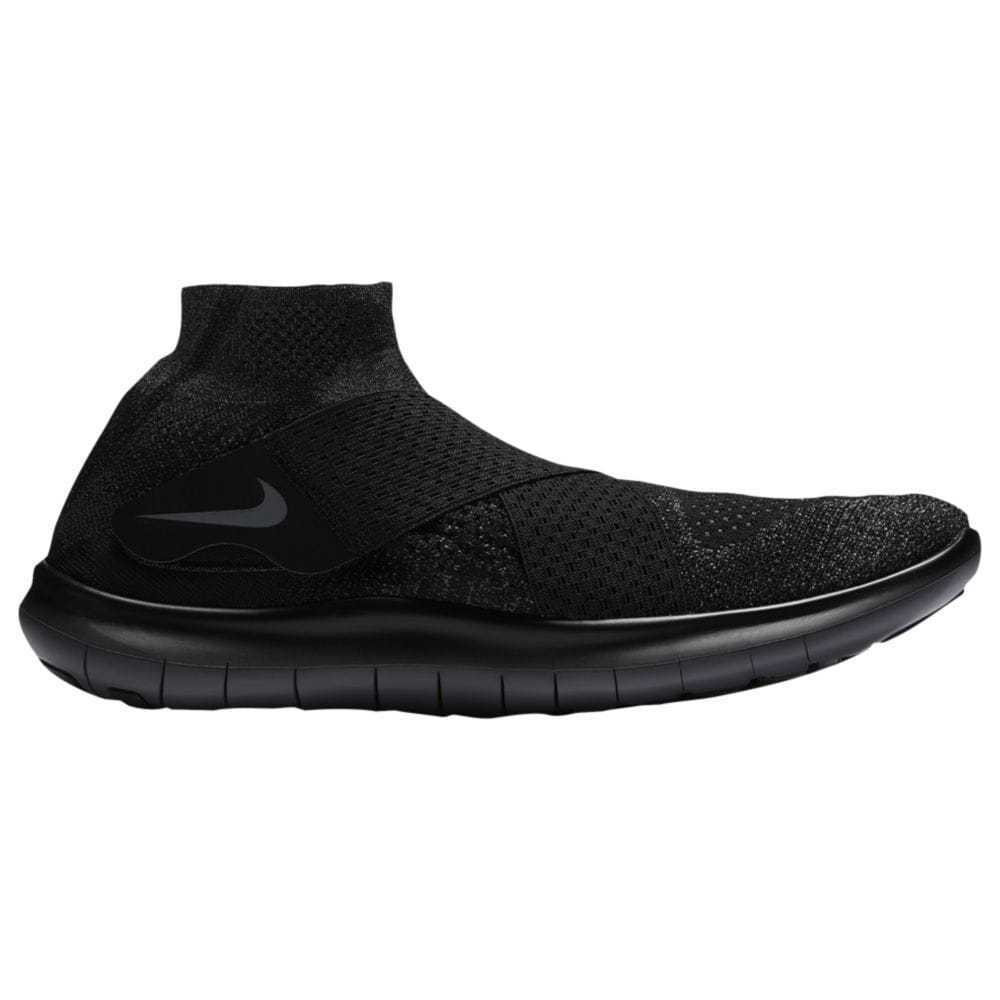 Nike Free RN Motion Flyknit 2017 Mens 880845-003 Black Running Shoes Size 10.5