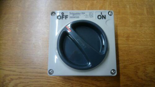 Schneider 56SW320LE 20A 415V Triple Pole Switch without enclosure Panel Mount