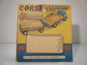 Corgi-No-1485-034-Lorry-Load-Planks-034-Boxed-Original-1950-039-s