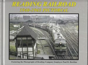 READING-RAILROAD-1940-1965-Pictorial-Out-of-Print-LAST-NEW-BOOK