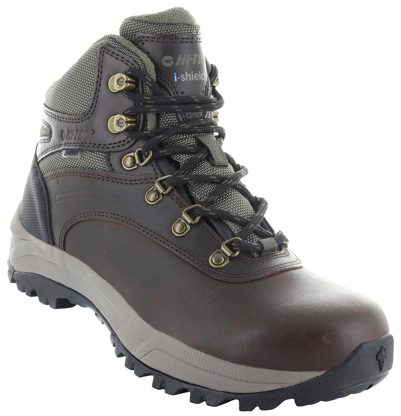 Hi-Tec 24115 Women's Altitude VI Brown Waterproof Leather High Top Hiking Boots