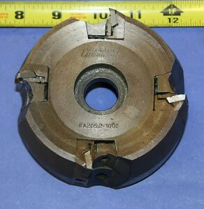 Used-4-034-Sandvik-RA265-2-100E-Indexable-Face-Mill