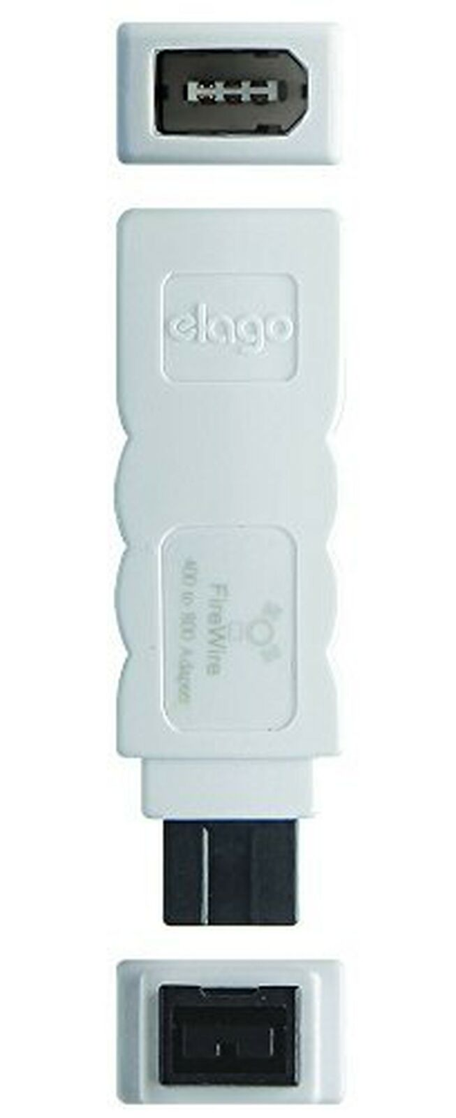 FireWire 400 to 800 Adapter - elago® FireWire Adapter [White]