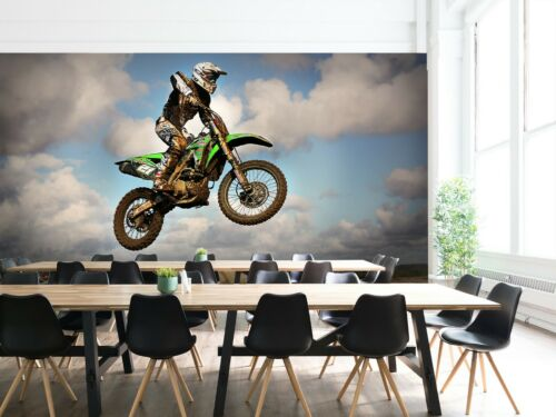 3D Motocross Vacates A10 Transport Wallpaper Mural Self-adhesive Removable Zoe