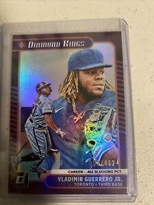 2021 Panini Donruss Baseball VLADIMIR GUERRERO JR Diamond Kings Holo 51/462 SP