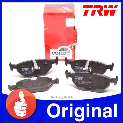 Original TRW Bremsbeläge für hinten BMW 3er E46 E36 Z3 Z4