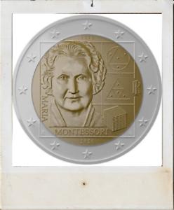 2-EURO-Italy-2020-Italie-150-jaar-ans-Maria-Montessori
