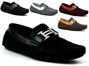 MENS-DESIGN-CASUAL-FLAT-SLIP-ON-PARTY-LOAFERS-DRIVING-SHOES-UK-SIZES-6-11