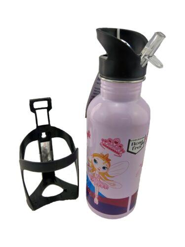 Fischer botella de acero inoxidable 0,6l alimentaria real frío//caliente chica Hada rosa