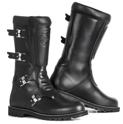 75bb95ed7db Stylmartin Continental Vintage Motorcycle Boots - Black