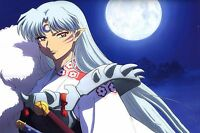Sesshomaru - Inuyasha - Wall Poster - Huge - 30 In X 20 In - Fast Shipping 201