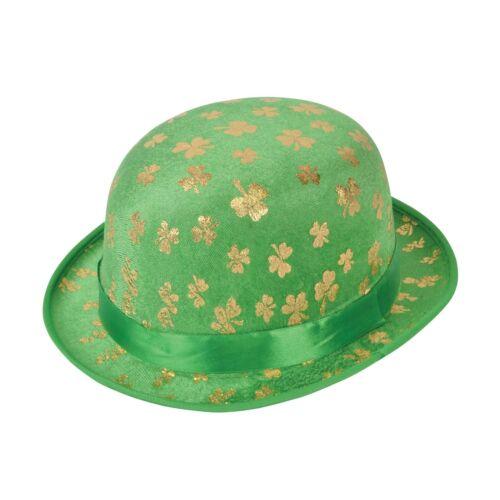 Erwachsene st Patricks Day Irisches Grün Kobold Zubehör Kostüm Hut Kleid