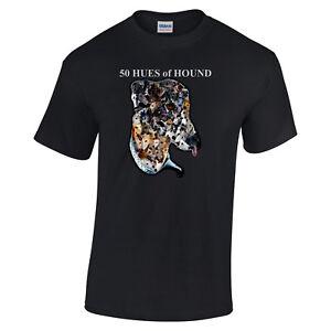 Fifty-Hues-of-Hound-Greyhound-Tshirt-Black-T-shirt-Unisex-Crew-V-Neck-Tee-Shirt