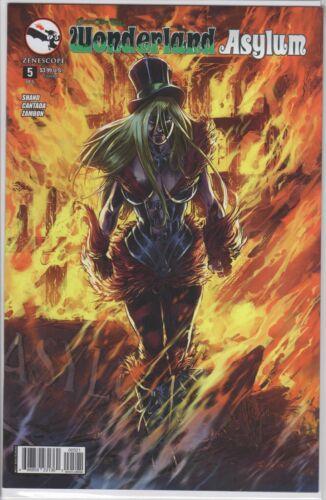 GFT WONDERLAND ASYLUM #5 Cover B NM Zenescope Comic Vault 35