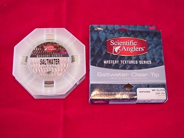 Scientific Angler Fly Line Textured SALT WATER CLEAR INTERMEDIATE TIP WF12F S