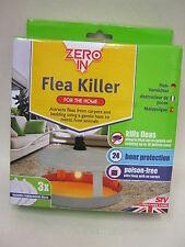 New Zero In Stv Electric Flea Killer Trap Unit  Poison Free Dog Cats ZER020
