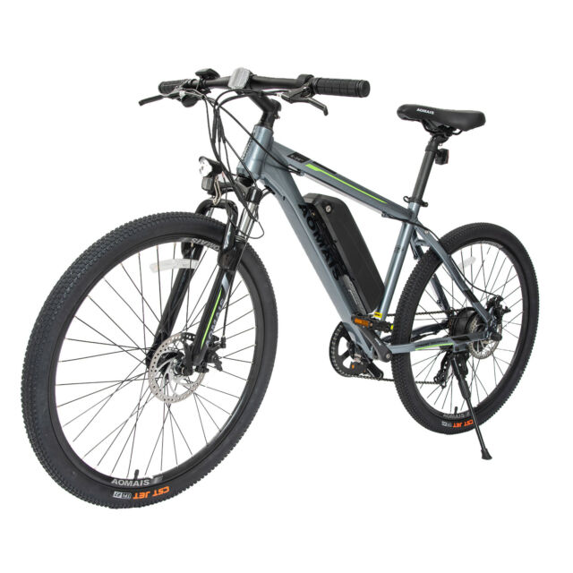 26 Aluminum Electric Bicycle Mountain Bike E 4 Sds W Battery 36v
