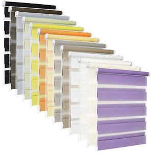 Duo-estor-enrollable-doppelrollos-ventana-persiana-klemmfix-sin-taladrar-muchos-colores