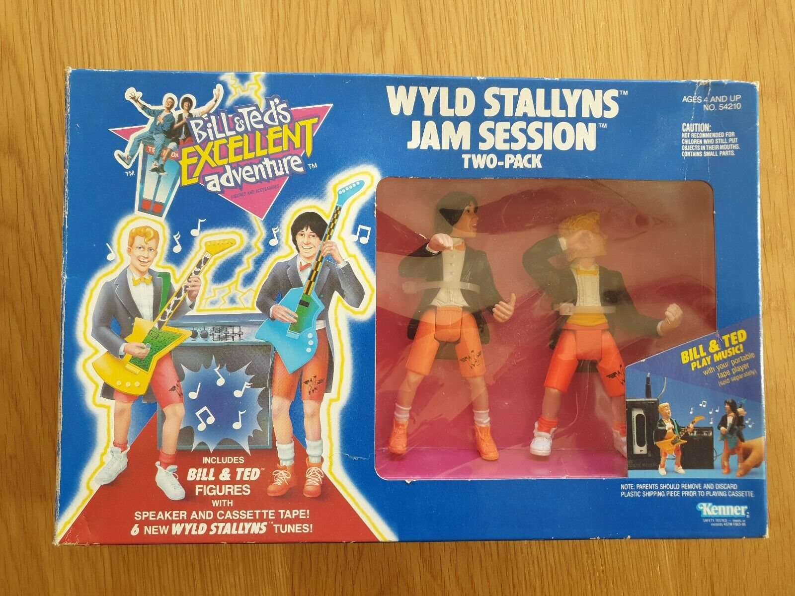 BILL & TED'S EXCELLENT ADVENTURE WYLD STALLYNS JAM SESSION Brand New C.I.B