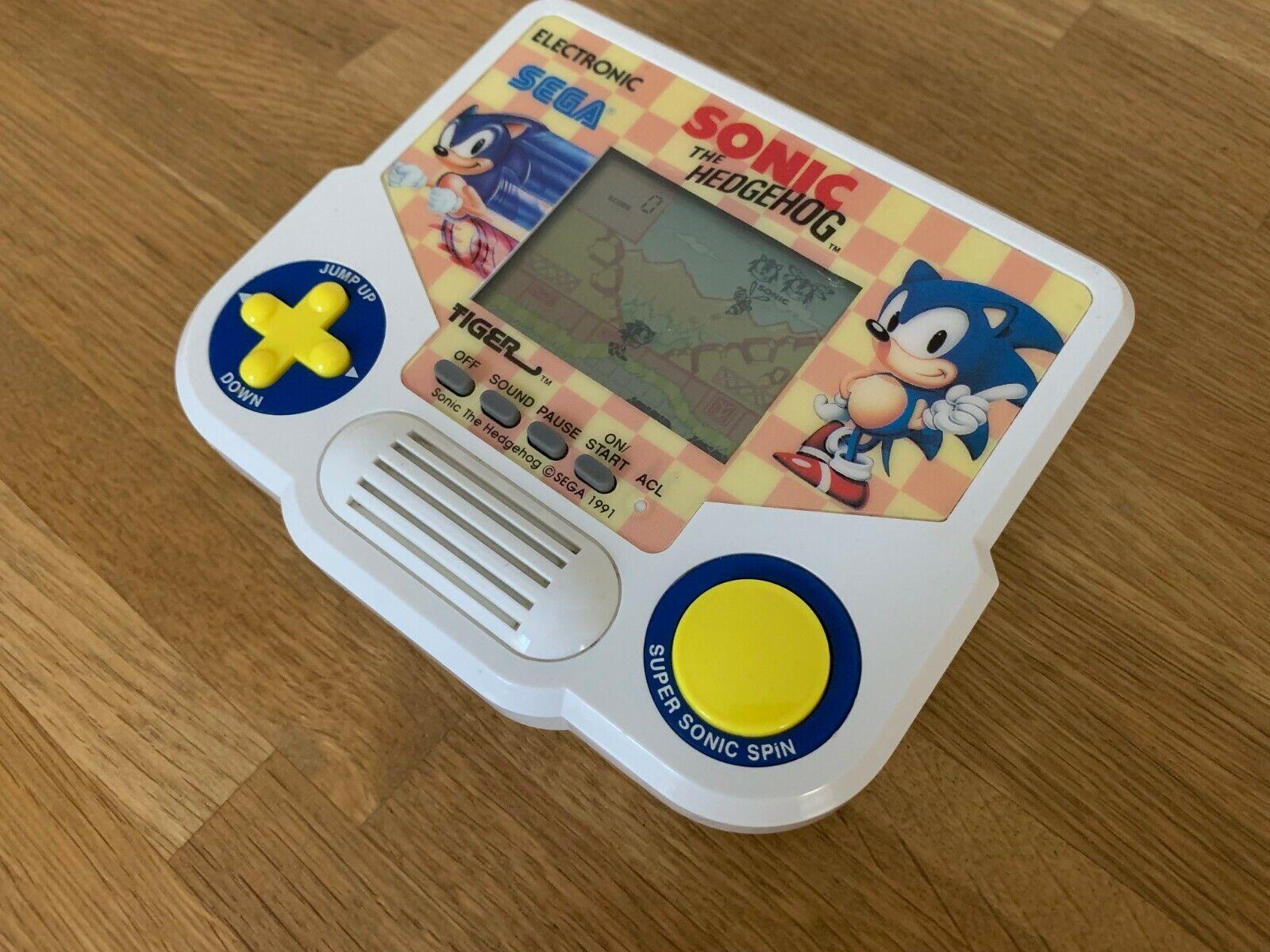 Sonic The Hedgehog 1988 Vintage Raro Juego electrónico LCD-Excelente Estado.