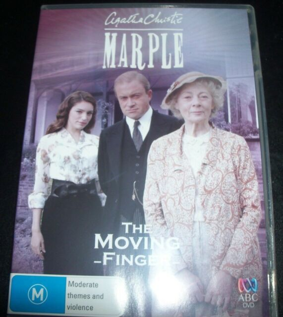 Agatha Christie Marple - The Moving Finger (Aust Region 4) ABC DVD – Like New