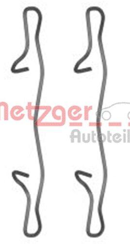 METZGER Zubehörsatz Scheibenbremsbelag GREENPARTS 109-1755 für MERCEDES VW AUDI