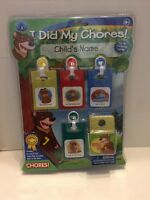 Child's Chore Chart Parents Aide Fun Way To Teach Kids To Do Chores
