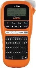 Brother Pt E110 Industrial Handheld Label Maker Tape Lcd Screen Handheld