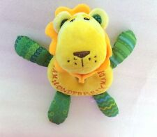 Wee Believers LION PRAYER BUDDY Christian Plush Stuffed Animal Rattle Lovey Toy