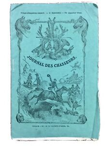 Chasse-au-Tigre-1861-Inde-Malaisie-Jules-Gerard-Rare-Journal-des-Chasseurs
