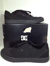 DC Trade TX Men's Size 9.5 Black Lace Up Sport Athletic Skate Shoes X2-505