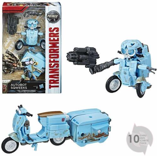 TRANSFORMERS  Robot Autobot Sqweeks scooter Jouet transformable 2 en 1 NEUF